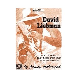 David Liebman Vol19 Aebersold Melody music caen