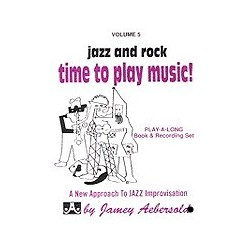 Jazz and rock Time to play music vol5 Aebersold Melody music caen