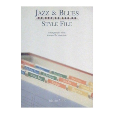 Jazz & Blues Style file Adrian York Melody music caen