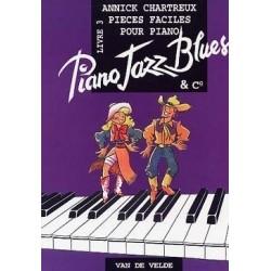 Piano jazz blues livre 3 Annick CHARTREUX