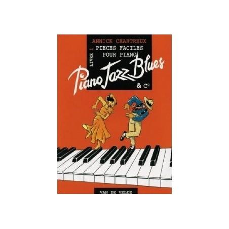 Piano jazz blues livre 1 Annick CHARTREUX