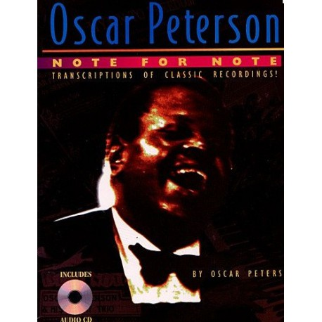 Oscar Peterson Note for note Melody music caen