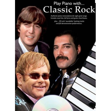 Play piano with...Classic Rock avec CD Melody music caen