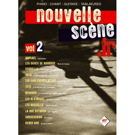 Nouvelle Scène Vol2 Ed Hit Diffusion Piano Chant Tablatures Melody music caen