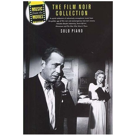 The film noir collection pour piano Melody music caen