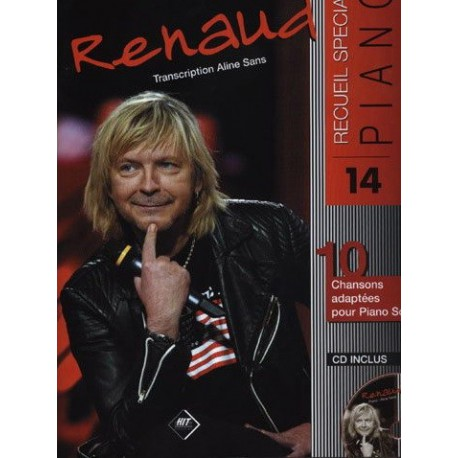 Renaud recueil spécial piano vol14 Melody music caen