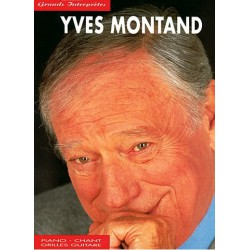 Yves Montand Grands Interprètes Piano Chant Guitare