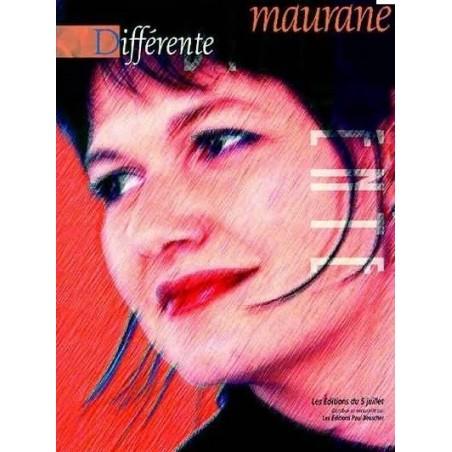 Maurane Différent Piano Voix Guitare