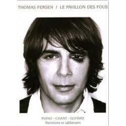 Thomas Fersen Le Pavillon des fous Piano Chant Tablatures