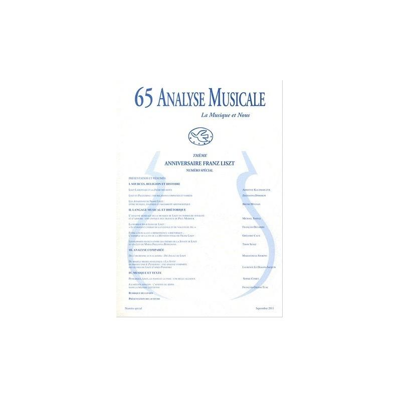 65 Analyse Musicale La musique et Nous Liszt Melody music caen