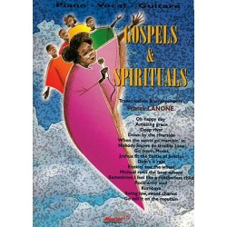 Gospels et Spirituals Piano Voix Guitare
