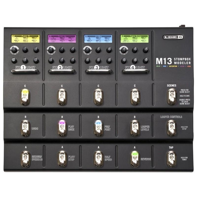 Effet Line 6 M13 Stompbox Melody music caen