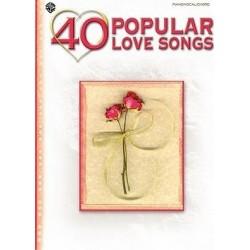 40 popular love songs Piano voix guitare