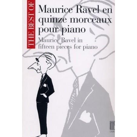 Maurice Ravel en 15 morceaux pour piano