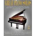Great piano solos The TV Book ouvrage corné