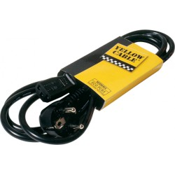 Yellow Cable Alimentation Secteur