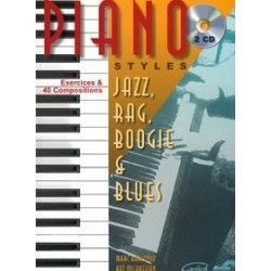 Piano styles Jazz, Rag, Boogie et Blues Vol1 Marc Bercovitz