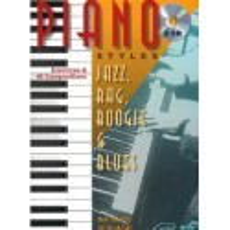Piano styles Jazz, Rag, Boogie et Blues Vol1 Marc Bercovitz