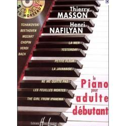 Le piano pour adulte débutant Thierry Masson/ Henri Nafilyan Melody music caen