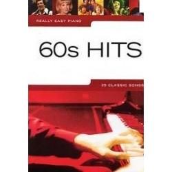 Really easy piano 60s Hits