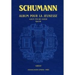 Album pour la jeunesse op68 Schumann Urtext