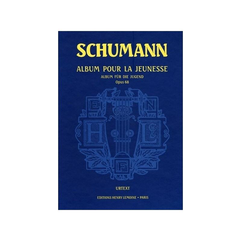 Album pour la jeunesse op68 Schumann Urtext Melody music caen