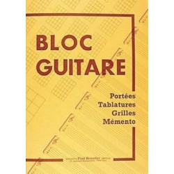 Bloc Guitare Melody music caen