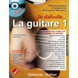 Je débute la guitare vol1 CD Philippe Heuvelinne Ed Hit Diffusion Melody music caen