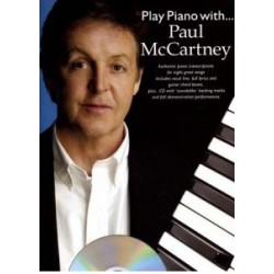 Play piano with...Paul McCartney avec CD
