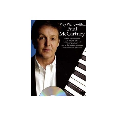 Play piano with...Paul McCartney avec CD Melody music caen