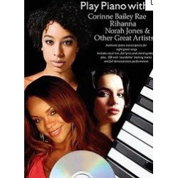 Play piano with...Rihanna Norah Jones Corinne Bailey...