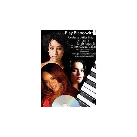 Play piano with...Rihanna Norah Jones Corinne Bailey...