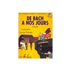De Bach à nos jours Vol5B Charles Hervé et Jacqueline POUILLARD Ed Henry Lemoine Melody music caen