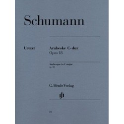 Arabesque in C major op18 Schumann Urtext Melody music caen