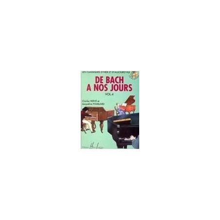 De Bach à nos jours Vol4A