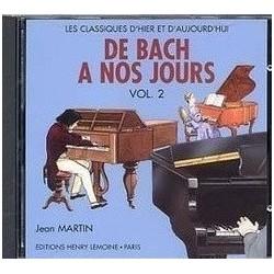 De Bach à nos jours 2A Le CD