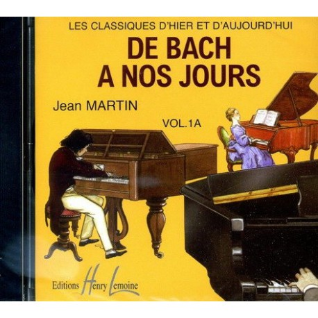 De Bach à nos jours Vol1A Le CD Melody music caen