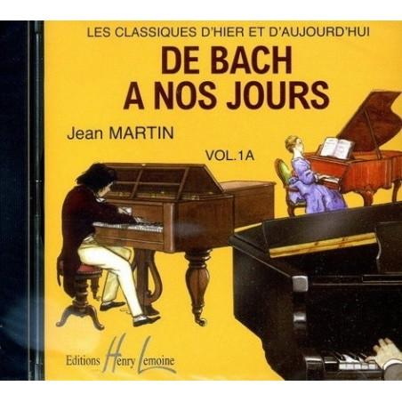 De Bach à nos jours Vol1A Le CD