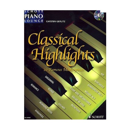 Schott Piano Lounge Classical Highlights Melody music caen