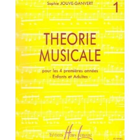 Théorie musicale Vol1 Sophie JOUVE GANVERT