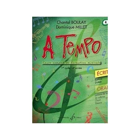 A Tempo Vol. 4 Ecrit 1er cycle 4è année