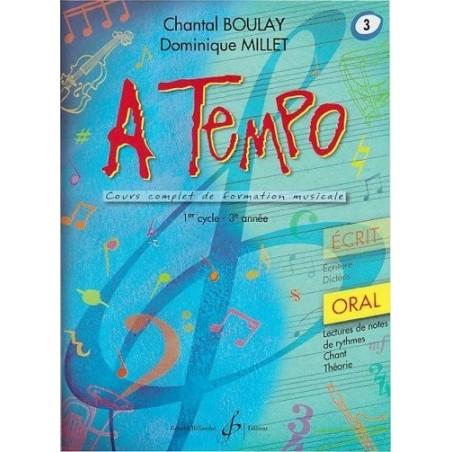 A Tempo vol. 3 Oral 1er cycle 3è année