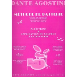Dante Agostini Methode de batterie Volume 1 Melody music caen