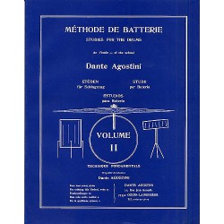 Dante Agostini Methode de batterie Volume 2 Melody music caen