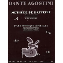 Dante Agostini Methode de batterie Volume 3 Melody music caen