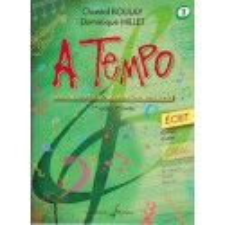 A Tempo Vol. 2 Ecrit 1er cycle 2è année