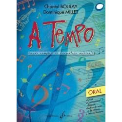 A Tempo 1er cycle 2è année Oral Melody music caen