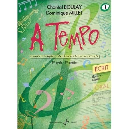 A Tempo Vol 1 Oral 1er cycle 1ère année