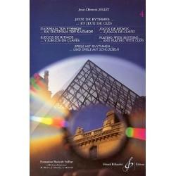 Jeux de Rythmes...et jeux de clés Vol4 Jean Clément Jollet Ed Billaudot Melody music caen