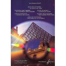 Jeux de Rythmes...et jeux de clés Vol3 Jean Clément Jollet Ed Billaudot Melody music caen